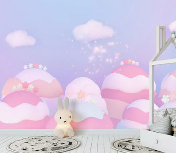 3D Pink Egg WC919 Wall Murals