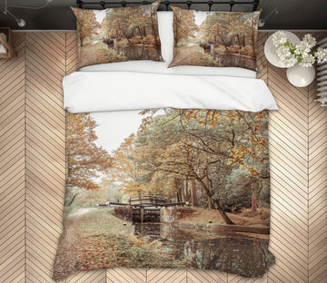 3D River Forest 1073 Assaf Frank Bedding Bed Pillowcases Quilt