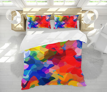 3D Color Pattern 2009 Shandra Smith Bedding Bed Pillowcases Quilt
