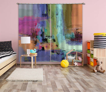 3D Painted Waterfall 222 Michael Tienhaara Curtain Curtains Drapes