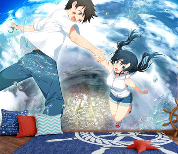 3D Weathering With You 36 Anime Wall Murals