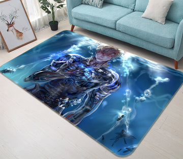 3D One Punch Man 7866 Anime Non Slip Rug Mat