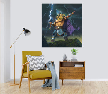 3D Thor God Of Thunder 079 Vincent Hie Wall Sticker