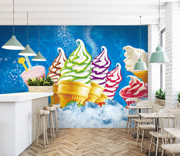 3D Delicious Ice Cream 251 Wall Murals