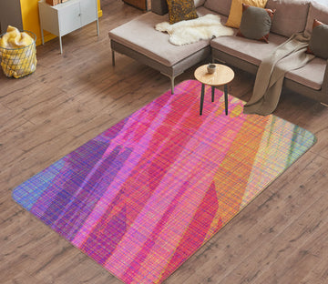 3D Abstract Rainbow 71029 Shandra Smith Rug Non Slip Rug Mat