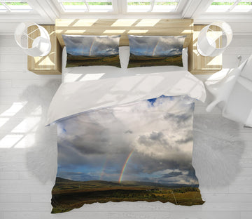 3D Rainbow Prairie 1016 Jerry LoFaro bedding Bed Pillowcases Quilt