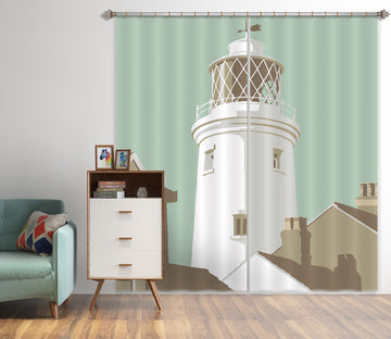 3D Southwold Lighthouse 154 Steve Read Curtain Curtains Drapes