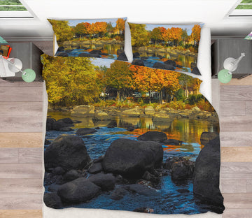 3D Stone Forest 1014 Jerry LoFaro bedding Bed Pillowcases Quilt