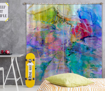 3D Beautiful Graffiti 226 Michael Tienhaara Curtain Curtains Drapes