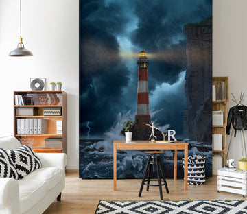 3D Lighthouse 1565 Wall Murals Exclusive Designer Vincent