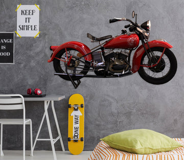 3D Red Motorcycle 222 Vehicles Wallpaper AJ Wallpaper
