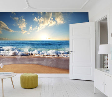 3D Beach Ocean 36 Wall Murals Wallpaper AJ Wallpaper 2