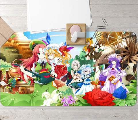 3D Anime Family 668 Desk Mat Mat AJ Creativity Home