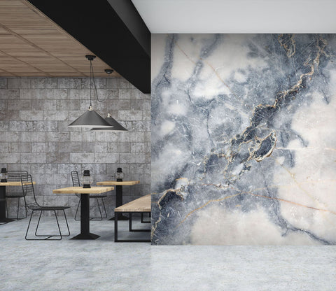 3D Marble Grey White 19 Wall Murals