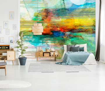 3D Color Sea 130 Michael Tienhaara Wall Mural Wall Murals