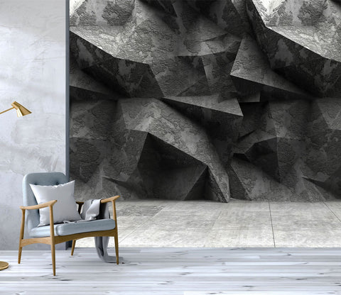 3D Stone Wall Three Dimensional 19 Wallpaper AJ Wallpaper