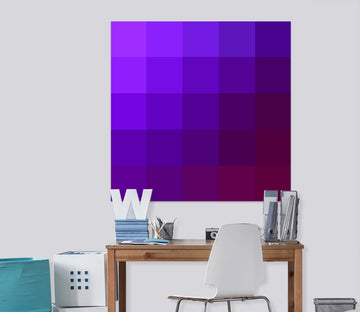 3D Purple 71112 Shandra Smith Wall Sticker