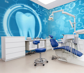 3D Dental Examination 331 Wall Murals