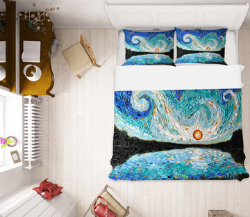 3D Abstract Art Painting 2018 Dena Tollefson bedding Bed Pillowcases Quilt Quiet Covers AJ Creativity Home