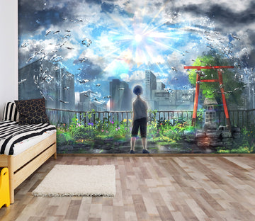 3D Weathering With You 33 Anime Wall Murals