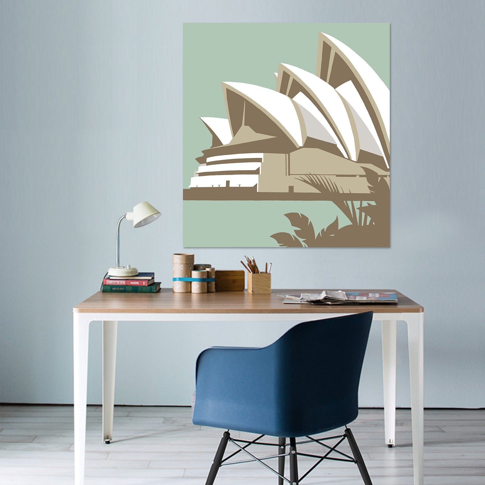 3D Sydney Opera House 074 Steve Read Wall Sticker