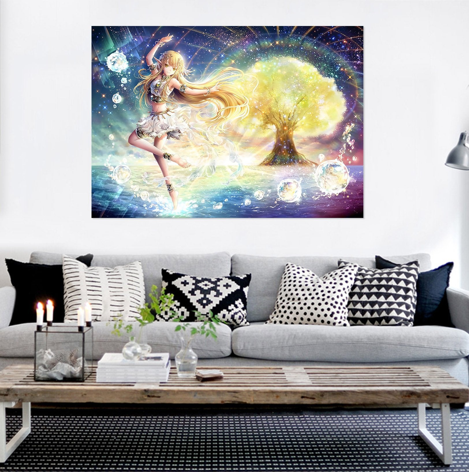3D The Elven Maiden 882 Anime Wall Stickers Wallpaper AJ Wallpaper 2