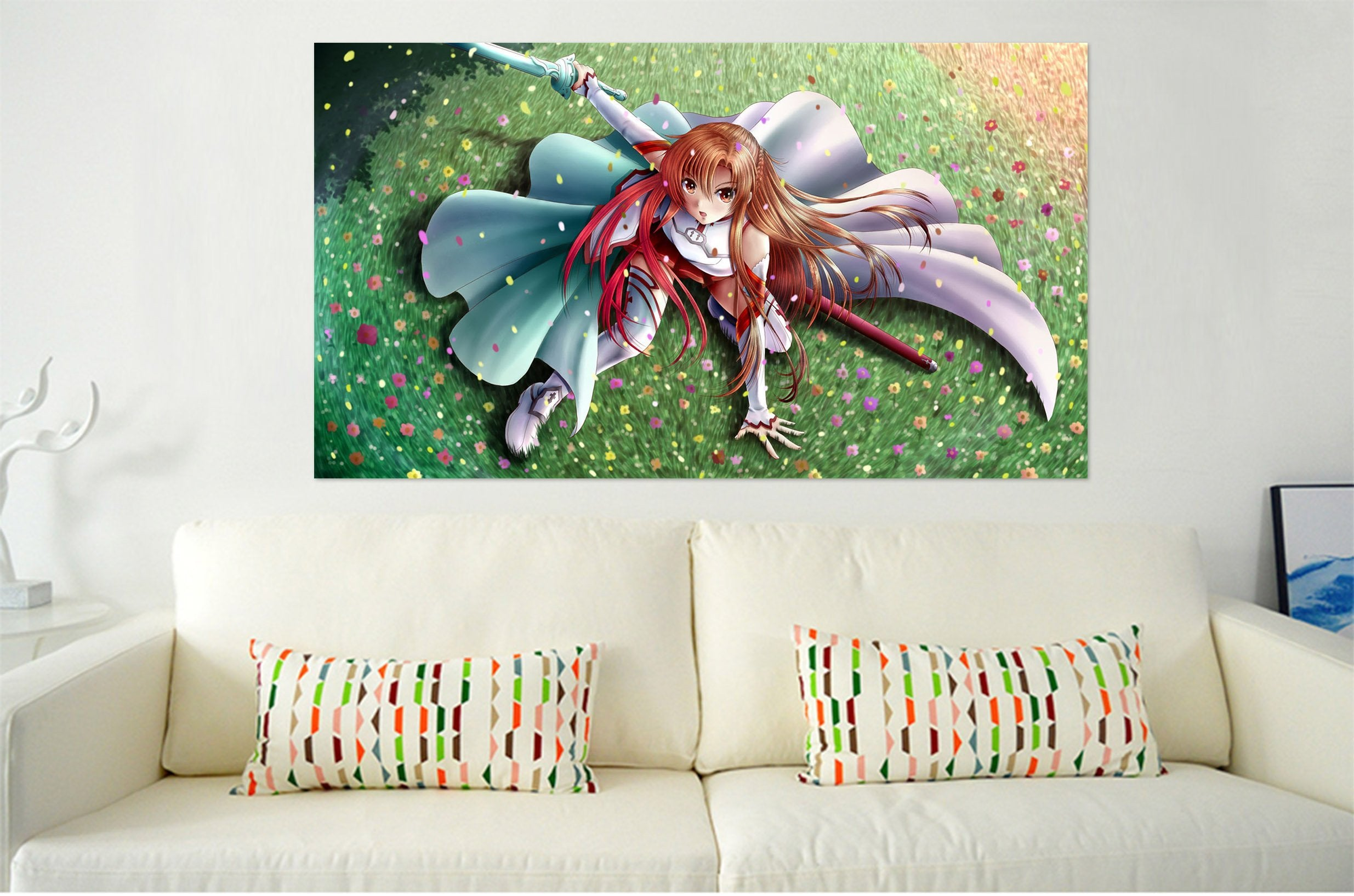 3D Sword Art Online 578 Anime Wall Stickers Wallpaper AJ Wallpaper 2