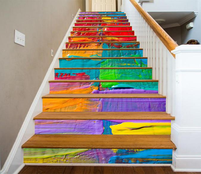 3D Color Paint 1142 Stair Risers