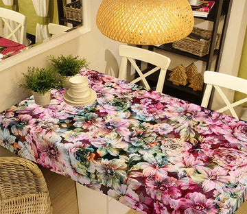 3D Bright Flowers 328 Tablecloths Wallpaper AJ Wallpaper