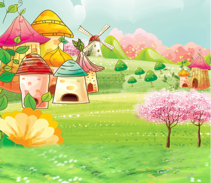 Fairy Tale World 3 Wallpaper AJ Wallpaper