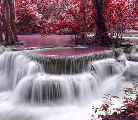 Beautiful Water Curtains Wallpaper AJ Wallpaper