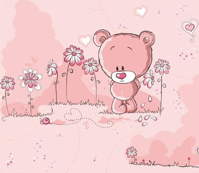 Lovely Bear Wallpaper AJ Wallpaper