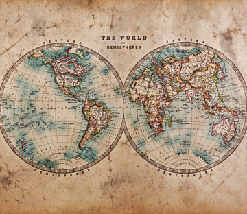 World Map Wallpaper AJ Wallpaper