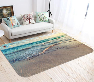 3D Calm Sea 103 Non Slip Rug Mat Mat AJ Creativity Home