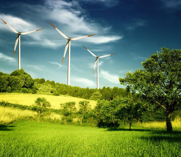 Wind Power Generation Wallpaper AJ Wallpaper