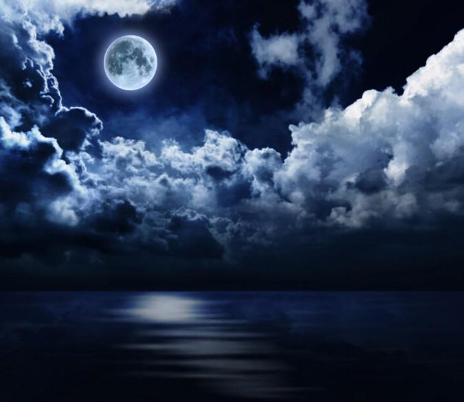 Full Moon Sky 2 Wallpaper AJ Wallpaper