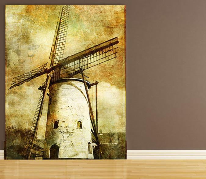 Old Windmill Wallpaper AJ Wallpaper