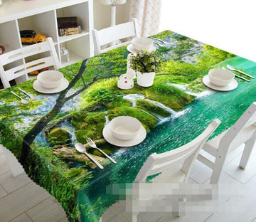 3D Lake Streams 1172 Tablecloths Wallpaper AJ Wallpaper