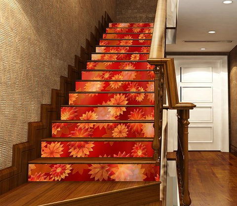 3D Bright Pattern 1438 Stair Risers