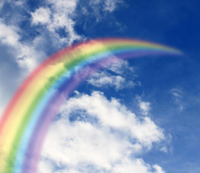 Rainbow Sky Wallpaper AJ Wallpaper