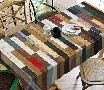 3D Wooden Boards 197 Tablecloths Wallpaper AJ Wallpaper