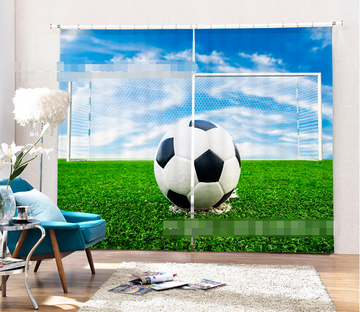 3D Football Field 1037 Curtains Drapes Wallpaper AJ Wallpaper