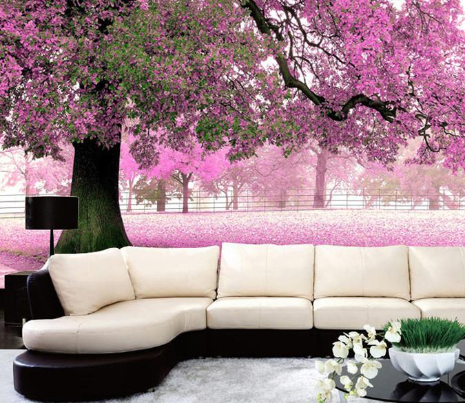 Blooming Trees Wallpaper AJ Wallpaper