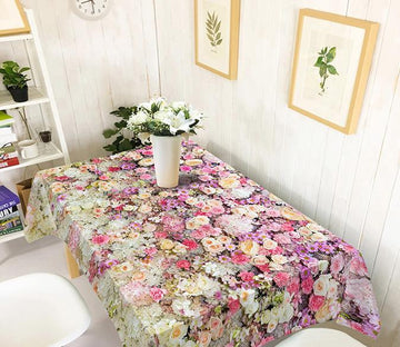 3D Flowers Wall 253 Tablecloths Wallpaper AJ Wallpaper