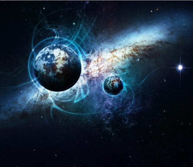 The Earth In The Universe Wallpaper AJ Wallpaper
