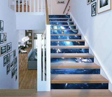 3D Space Scenery 416 Stair Risers Wallpaper AJ Wallpaper