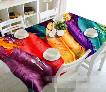3D Colorful Peacocks 1353 Tablecloths Wallpaper AJ Wallpaper