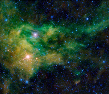 Green Nebulas Wallpaper AJ Wallpaper
