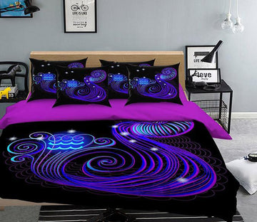 3D Aquarius 305 Bed Pillowcases Quilt Wallpaper AJ Wallpaper