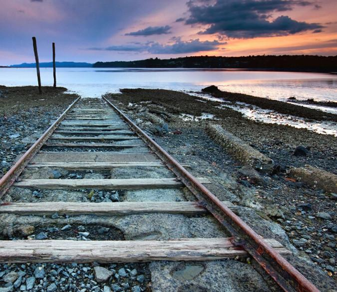 Railway And Scenery Wallpaper AJ Wallpaper
